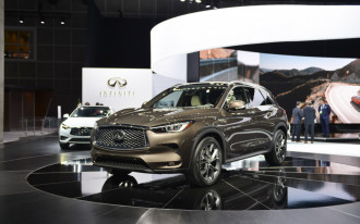 Something in the air: 2019 Infiniti QX50 crossover SUV revealed