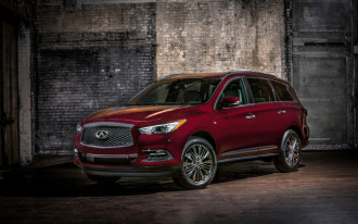 Infiniti puts on tuxedo, dresses up QX60, QX80 with Limited package