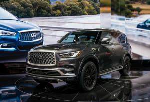 2019 Infiniti QX80, 2018 New York auto show