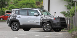 2019 Jeep Renegade facelift spy shots - Image via S. Baldauf/SB-Medien