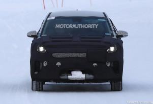 2019 Kia Niro EV spy shots - Image via S. Baldauf/SB-Medien