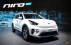 2019 Kia Niro EV debuts with 210 horsepower, 280 miles of range
