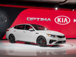 2019 Kia Optima, 2018 New York auto show