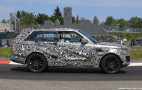 Land Rover Range Rover SV Coupe hits the 'Ring