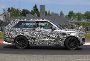 2019 Land Rover Range Rover SV Coupe undergoes final testing at the Nürburgring