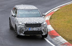 2019 Land Rover Range Rover Velar SVR spy shots and video