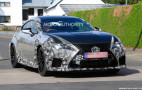 2019 Lexus RC F GT spy shots