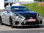 2019 Lexus RC F GT spy shots - Image via S. Baldauf/SB-Medien