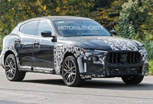 2019 Maserati Levante GTS spy shots - Image via S. Baldauf/SB-Medien