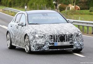 2019 Mercedes-AMG A35 hatchback spy shots - Image via S. Baldauf/SB-Medien