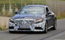 2019 Mercedes-AMG C63 Coupe facelift spy shots - Image via S. Baldauf/SB-Medien