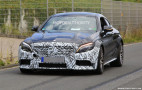 2019 Mercedes-AMG C63 Coupe spy shots