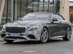 2018 Mercedes-AMG S63 Cabriolet facelift spy shots - Image via S. Baldauf/SB-Medien
