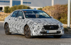 2019 Mercedes-Benz A-Class sedan spy shots