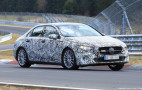 2019 Mercedes-Benz A-Class sedan spy shots and video