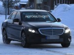 2019 Mercedes-Benz C-Class facelift spy shots - Image via S. Baldauf/SB-Medien