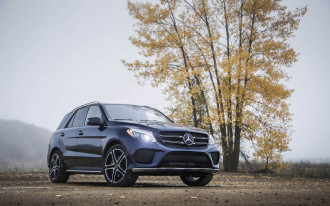 Revised headlights help 2018 Mercedes-Benz GLE-Class earn IIHS Top Safety Pick+ award