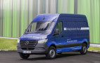 New Mercedes-Benz eSprinter electric van set for European debut
