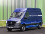 2019 Mercedes-Benz Sprinter e-Sprinter electric version (European model)