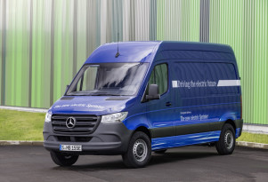 New Mercedes-Benz eSprinter electric van set for European debut