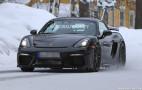 2019 Porsche 718 Cayman GT4 spy shots
