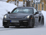 2019 Porsche 718 Cayman GT4 spy shots - Image via S. Baldauf/SB-Medien