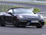 2019 Porsche 718 Spyder spy shots - Image via S. Baldauf/SB-Medien