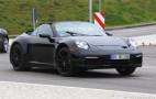 2019 Porsche 911 Cabrio spy shots