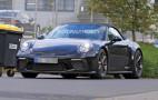 2019 Porsche 911 GT3 Touring Cabriolet spy shots