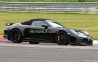 2019 Porsche 911 Speedster spy shots and video