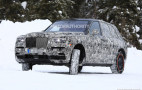 2019 Rolls-Royce Cullinan spy shots and video