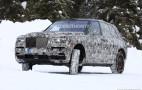 2019 Rolls-Royce Cullinan spy shots and video