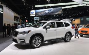 2019 Subaru Ascent, 2017 Los Angeles Auto Show