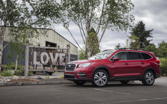 Some 2019 Subaru Ascent crossover SUVs may be replaced for faulty roof welds