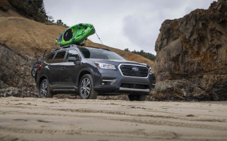 2019 Subaru Ascent crossover SUV crashes well, scores Top Safety Pick+