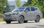 2019 Subaru Forester spy shots