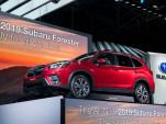 2019 Subaru Forester, 2018 New York auto show