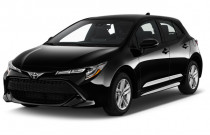 2019 Toyota Corolla Hatchback SE CVT (Natl) Angular Front Exterior View