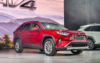 Redesigned 2019 Toyota RAV4 Hybrid debuts at New York auto show