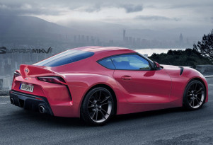 2019 Toyota Supra rendering - Image via SupraMkV