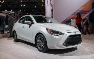 2019 Toyota Yaris sedan: more choices to make