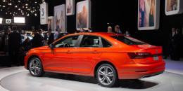 2019 Volkswagen Jetta, 2018 Detroit auto show