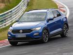 2018 Volkswagen T-Roc R spy shots - Image via S. Baldauf/SB-Medien
