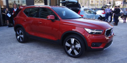 2019 Volvo XC40 small SUV to become brand's first electric car