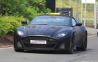 2020 Aston Martin DBS Superleggera Volante spy shots and video