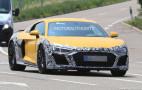 2020 Audi R8 spy shots