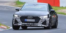 2020 Audi RS 7 test mule spy shots - Image via S. Baldauf/SB-Medien