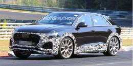 2020 Audi RS Q8 spy shots and video