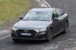 2020 Audi S8 spy shots