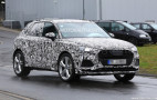 2020 Audi SQ3 spy shots
